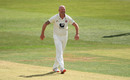 Darren Stevens celebrates yet another scalp, Kent v Hampshire, Bob Willis Trophy, Canterbury, September 6, 2020