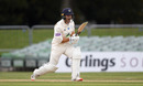 Lewis McManus was unbeaten on fifty at the close of the second day, Bob Willis Trophy, Kent v Hampshire, Canterbury, September 07, 2020