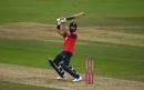 Moeen Ali pulls off the perfect ramp shot, England v Australia, 3rd T20I, Southampton, September 8, 2020