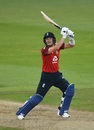 Joe Denly carves one over the off side, England v Australia, 3rd T20I, Southampton, September 8, 2020