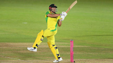 Marcus Stoinis ended the series at No. 3