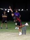 Kuldeep Yadav in his delivery stride, Abu Dhabi, September 8, 2020