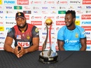 Captains Keiron Pollard and Daren Sammy on the eve of the CPL 2020 final, Trinbago Knight Riders v St Lucia Zouks, Tarouba, September 9, 2020