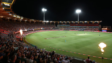 The Metricon Stadium is one of the venues the BBL has expanded into