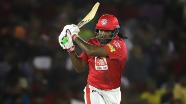 Chris Gayle's impact score of 53 per game is the highest for a pure batsman