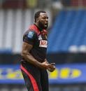 Kieron Pollard roars after taking a wicket, St Lucia Zouks v Trinbago Knight Riders, CPL final, Tarouba, September 10, 2020