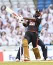 Darren Bravo unleashes a pull, St Lucia Zouks v Trinbago Knight Riders, CPL final, Tarouba, September 10, 2020