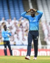 Kesrick Williams has plenty on his mind, St Lucia Zouks v Trinbago Knight Riders, CPL final, Tarouba, September 10, 2020