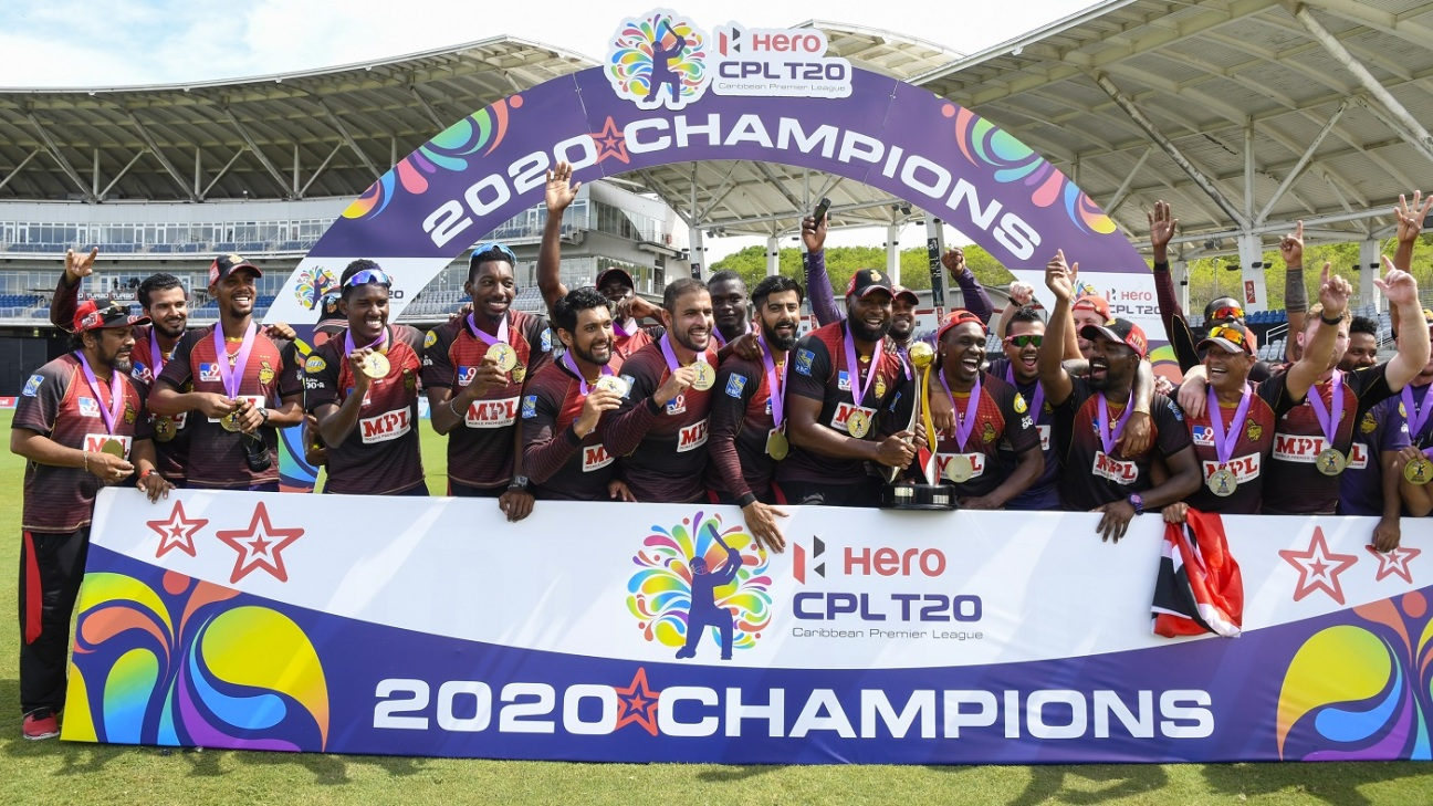 Trinbago Knight Riders are the 2020 CPL champions after winning 12 matches in 12