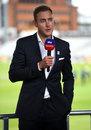 Stuart Broad joined Sky Sports' team for the first ODI against Australia, England v Australia, 1st ODI, Old Trafford, September 11, 2020