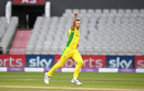 Josh Hazlewood was relentlessly accurate with the new ball, England v Australia, 1st ODI, Old Trafford, September 11, 2020