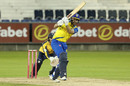 Ben Raine hits out, Yorkshire v Durham, Vitality T20 Blast, September 4, 2020