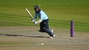 Adil Rashid played a valuable hand with the bat, 2nd ODI, England v Australia, at Emirates Old Trafford, September 13, 2020