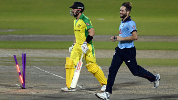 Chris Woakes produced a brilliant spell to drag England back into the game