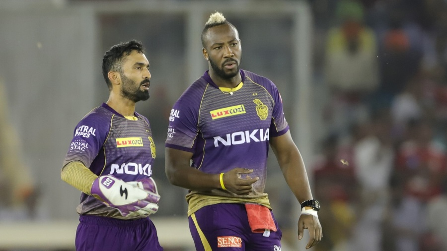 Dinesh Karthik and Andre Russell both have strong numbers against Bumrah at the death