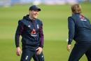 Eoin Morgan shares a joke in training, England training, Emirates Old Trafford, England v Australia, September 15, 2020