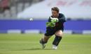 Jos Buttler keeps his eye on the ball, England training, Emirates Old Trafford, England v Australia, September 15, 2020