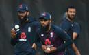 Adil Rashid bowls in the nets, England training, Emirates Old Trafford, England v Australia, September 15, 2020