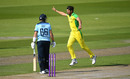 Mitchell Starc struck with the first two balls of the match, England v Australia, 3rd ODI, Emirates Old Trafford, September 16, 2020