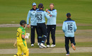 Joe Root claimed quick wickets to put England in command, England v Australia, 3rd ODI, Emirates Old Trafford, September 16, 2020
