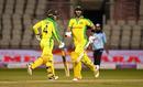 Glenn Maxwell and Alex Carey dug in for Australia, England v Australia, 3rd ODI, Emirates Old Trafford, September 16, 2020