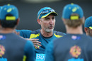 Jason Gillespie as coach of Australia's PM's XI, Prime Ministers XI v Sri Lanka, Manuka Oval, October 24, 2019