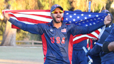 Khan will be the first USA player to feature in the IPL