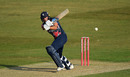 Jack Leaning swats into the leg side, Kent v Essex, Canterbury, Vitality Blast, September 18, 2020