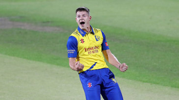 Durham's Matty Potts was in the wickets again