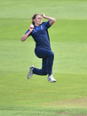 Beth Langston in action for Northern Diamonds, Rachael Heyhoe Flint Trophy, Central Sparks v Northern Diamonds, Edgbaston, August 29, 2020