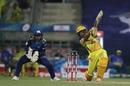 Ambati Rayudu goes for the big one,  Mumbai Indians v Chennai Super Kings, IPL 2020, Abu Dhabi, September 19, 2020