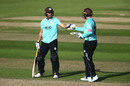 Laurie Evans and Jason Roy put on 135 for the second wicket, Surrey v Kent, The Oval, Vitality Blast, September 20, 2020