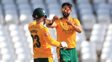 Imad Wasim choked Durham's run chase