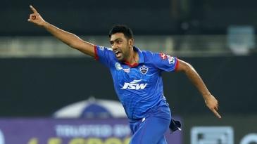 R Ashwin goes on a celebratory run after sending back Nicholas Pooran