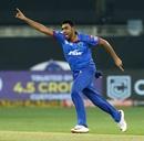 R Ashwin goes on a celebratory run after sending back Nicholas Pooran, Delhi Capitals v Kings XI Punjab, IPL 2020, Dubai, September 20, 2020
