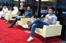 Sourav Ganguly and Jay Shah keep an eye on the proceedings, Delhi Capitals v Kings XI Punjab, IPL 2020, Dubai, September 20, 2020
