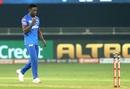 Kagiso Rabada celebrates a wicket, Delhi Capitals v Kings XI Punjab, IPL 2020, Dubai, September 20, 2020