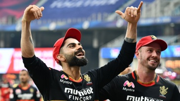 Virat Kohli and AB de Villiers have plenty of reasons to smile