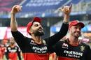 Virat Kohli and AB de Villiers have plenty of reasons to smile, Royal Challengers Bangalore vs Sunrisers Hyderabad, IPL 2020, Dubai, September 21, 2020