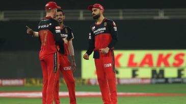 Virat Kohli, AB de Villiers and Yuzvendra Chahal discuss tactics