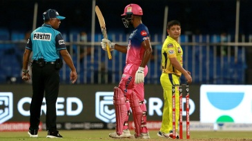 Sanju Samson led the way as Piyush Chawla conceded 28 in his first over