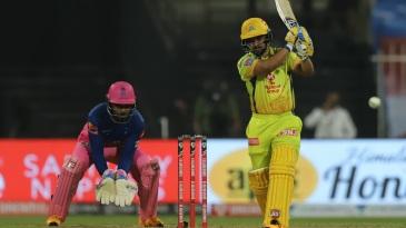 Kedar Jadhav hits down the ground