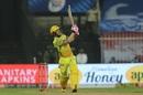 Faf du Plessis goes big over the leg side, Rajasthan Royals v Chennai Super Kings, IPL 2020, Sharjah, September 22, 2020