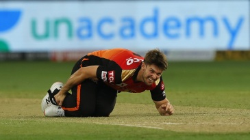 Mitchell Marsh's IPL 2020 ended after just one aborted outing