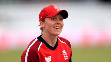 England captain, Heather Knight