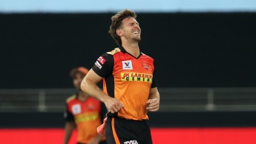 Mitchell Marsh winces in pain