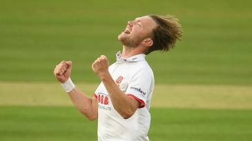 Sam Cook took a five-wicket haul