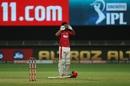KL Rahul brings out a unique celebration, Kings XI Punjab vs Royal Challengers Bangalore , IPL 2020, Dubai, September 24, 2020