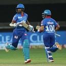 Shikhar Dhawan and Prithvi Shaw gave Delhi Capitals a strong start, Chennai Super Kings vs Delhi Capitals, IPL 2020, Dubai, September 25, 2020