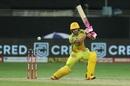 Faf du Plessis pierces the off side, Chennai Super Kings vs Delhi Capitals, IPL 2020, Dubai, September 25, 2020